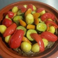 Tajine Agneau Legumes