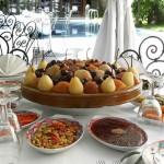 Buffet de plats marocains pour une reception